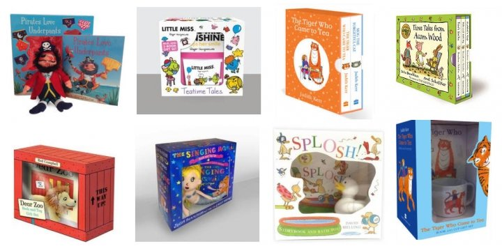 Childrenu0026#39;s Book Gift Sets From U00a33 @ Tesco Direct