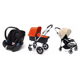 FREE Car Seat With Bugaboo Pushchair