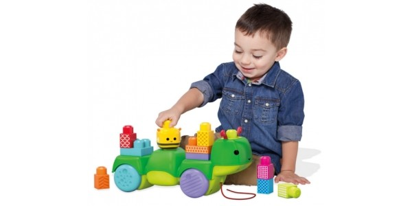 Mega Bloks First Builders Move-n-Groove Caterpillar Toy £5.90 @ Amazon