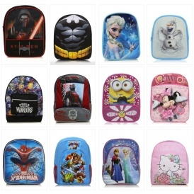 Kids' Character Rucksacks £4 @ Asda George