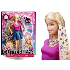 Barbie Glitter Hair Design Doll £6.68