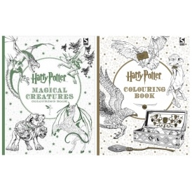 Harry Potter Adult Colouring Books £4.99