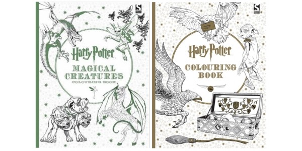 Harry Potter Adult Colouring Books £4.99 Each With Free Delivery @ The Book Depository