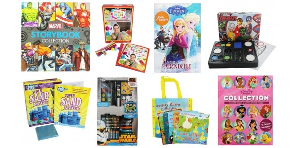 3 for £10 On Kids Books, Toys & Games @ The Works