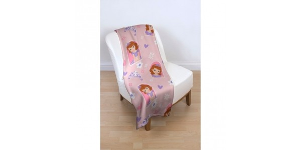 Sofia The First/Doc McStuffins Fleece Blanket £2 @ Smyths