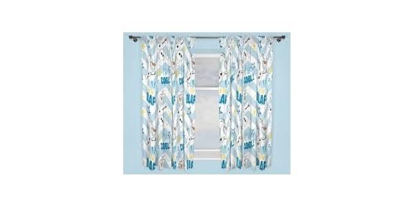 Disney Frozen Olaf Curtains £11.99 Delivered @ Argos