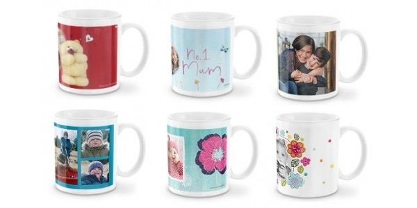Personalised Photo Mugs From Just £2.99 Delivered @ Snapfish