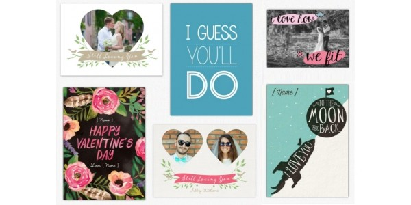 FREE Personalised Valentine's Day Card (using code) @ Clever Cards