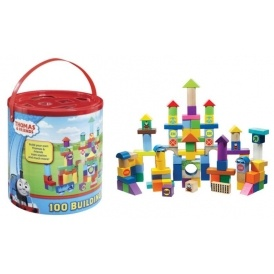 1/2 Price Thomas 100 Piece Block Set £9.18