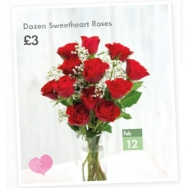 A Dozen Red Roses £3 @ Lidl