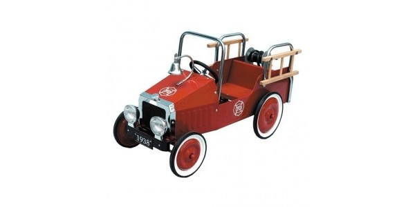 Great Gizmos Fire Engine Classic Pedal Car £78.13 Delivered @ Amazon