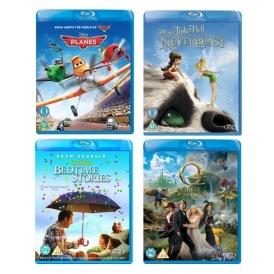 2 For £12 On Disney Blu-Ray @ Zavvi