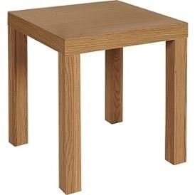 Oak Effect End Table £7.99 @ Argos