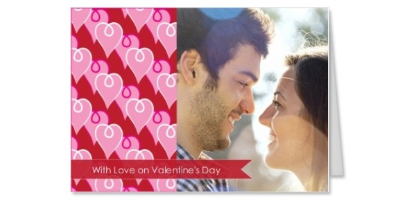Personalised Valentine's Day Card 99p Delivered (With Code) @ Truprint