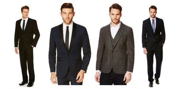 25% Off Men's Suits & Tailoring @ Tesco F+F- Prices Start From Just £9