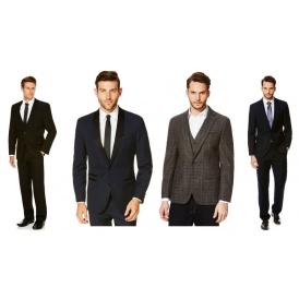 25% Off Men's Suits & Tailoring @ F+F