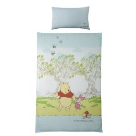 Disney Pooh Single Bed Set £9.67