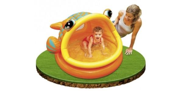 Intex Lazy Fish Baby Paddling Pool or Ball Pond £8.99 @ Amazon