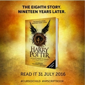 Harry Potter & The Cursed Child Book