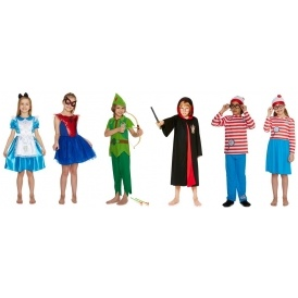World Book Day Outfits @ Tesco F+F