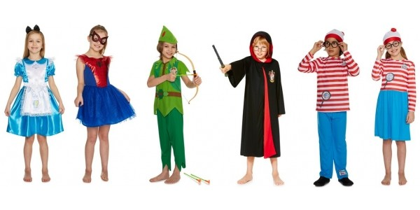 New World Book Day Fancy Dress Outfits @ Tesco F+F