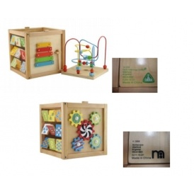 RECALL: ELC / Mothercare Activity Cubes