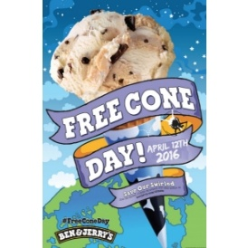 FREE Cone Day @ Ben & Jerry's