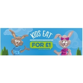 Kid's Eat and Drink For £1 @ Harvester