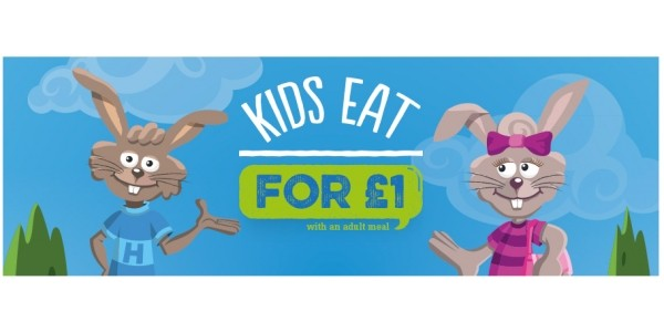 Kid's Eat and Drink For £1 With An Adult Meal @ Harvester