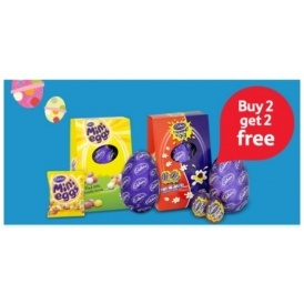 Buy Two Get Two FREE On Easter Eggs