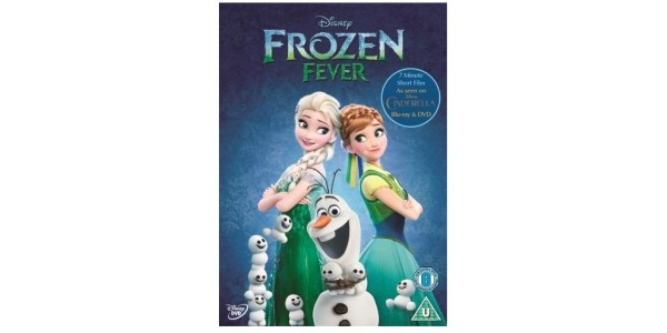 Frozen Fever DVD £1 With Free Delivery @ Tesco Direct