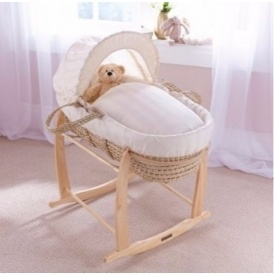 Moses Basket & Rocking Stand £23.99