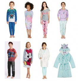 Kid's Pyjamas From £3 @ M&S