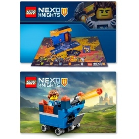 FREE Nexo Knights Gifts @ The Lego Shop