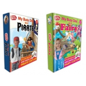 Fairy/Pirate Dress-Up & Book From £3.99