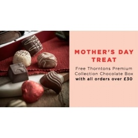 FREE Box Of Thorntons WYS £30 @ BHS