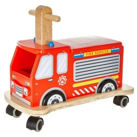 Ride On Wooden Fire Engine £36 @ John Lewis