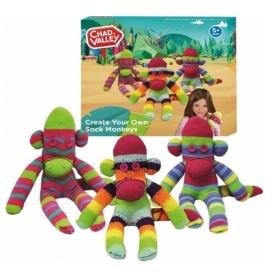 Chad Valley Make & Create Sock Monkeys £3.95