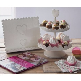 Cookbook Stand & Cake Stand Set £6.49