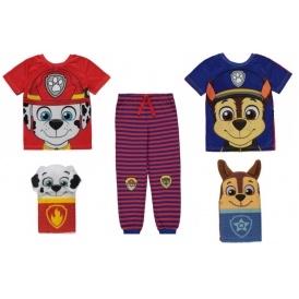 NEW Paw Patrol 2 Way Pyjama Set From £8