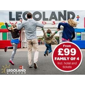 LEGOLAND Windsor Breaks From £99 Per Family