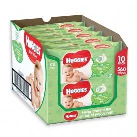 50 Packs Of Huggies Wipes £18.77 @ Amazon