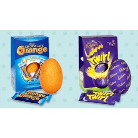 Selected Large Easter Eggs £2 @ Tesco