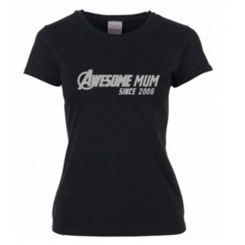 Personalised Awesome Mum T-Shirt £3