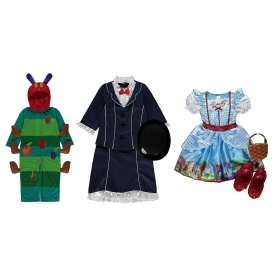 World Book Day Outfits From £8 @ Asda George