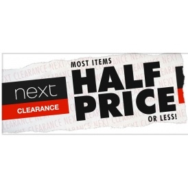 New Lines & Reductions In Next Clearance