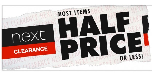 New Lines Added Plus Further Reductions In Clearance @ Next