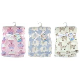 Fleece Baby Blankets From £2.95 Del @ Amazon