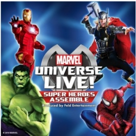 Marvel Universe LIVE Tickets On Sale
