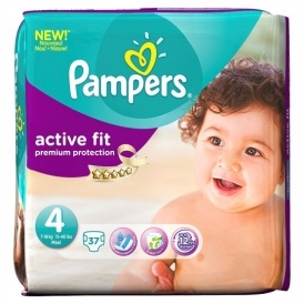 FREE Pampers Active Fit Nappies @ Pampers